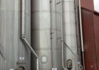 Storage bins and vessels changed