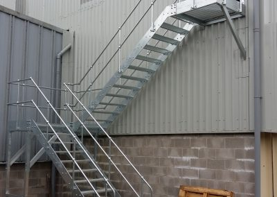 Walkways and stairs