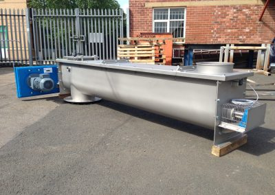 Bespoke screw conveyor