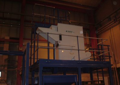 Plastic separator plant