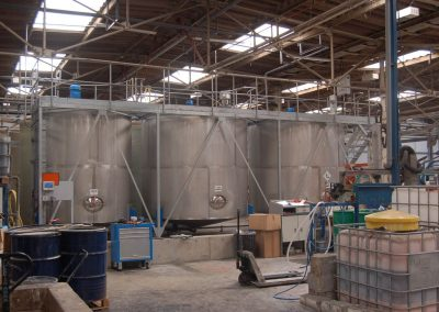 Mixer installation to increase capacity to 10,000 litres for a client based near York