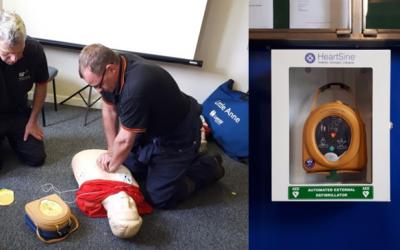 New defibrillators installed at ISF