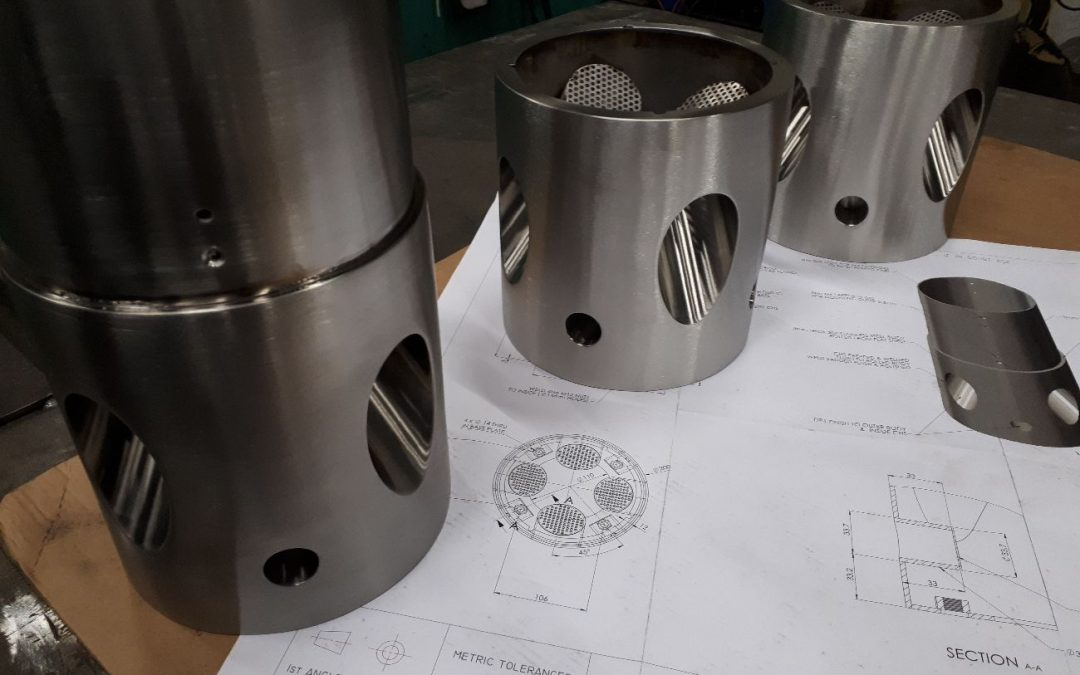 Three more Theramin Bollard Bases created for Interact & Connect Ltd.