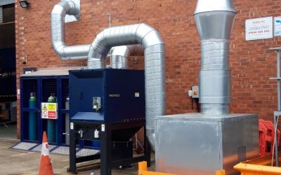 Fume Extraction System Installation