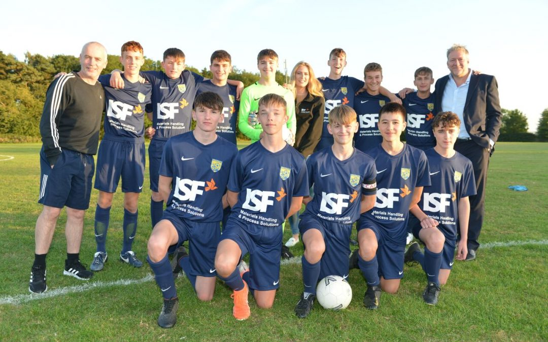 ISF support Elvington Harriers under 16's